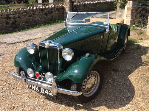 MG TD 1953, British Racing Green For Sale (picture 1 of 6)