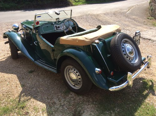 MG TD 1953, British Racing Green For Sale (picture 2 of 6)