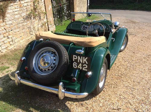 MG TD 1953, British Racing Green For Sale (picture 3 of 6)
