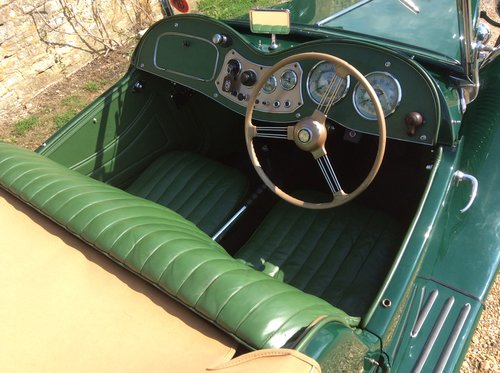 MG TD 1953, British Racing Green For Sale (picture 4 of 6)