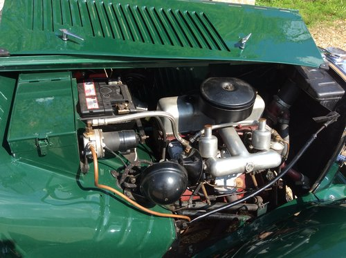 MG TD 1953, British Racing Green For Sale (picture 5 of 6)