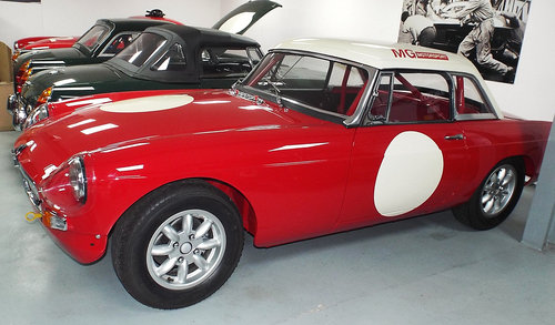 1963 MGB Historic Racer SOLD (picture 1 of 6)