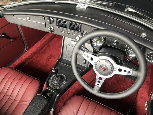 1978 MGB 3.5 V8 Roadster rebuild For Sale (picture 3 of 6)