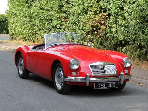 1957 MGA Roadster 1500 Original RHD , 3k since rebuild SOLD (picture 1 of 6)
