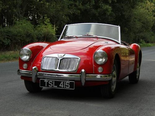 1957 MGA Roadster 1500 Original RHD , 3k since rebuild SOLD (picture 2 of 6)