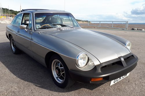 1981 MGB GT LE  For Sale (picture 1 of 6)