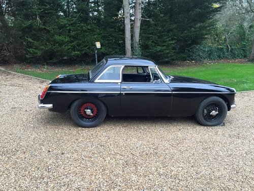 1969 MGB MK2 black owed over 30 years 3 owners rare mk2 For Sale (picture 2 of 6)