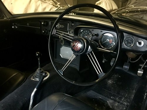 1969 MGB MK2 black owed over 30 years 3 owners rare mk2 For Sale (picture 5 of 6)