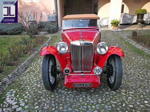 VERY NICE AND RELIABLE 1948 MG TC MIDGET SOLD (picture 1 of 6)