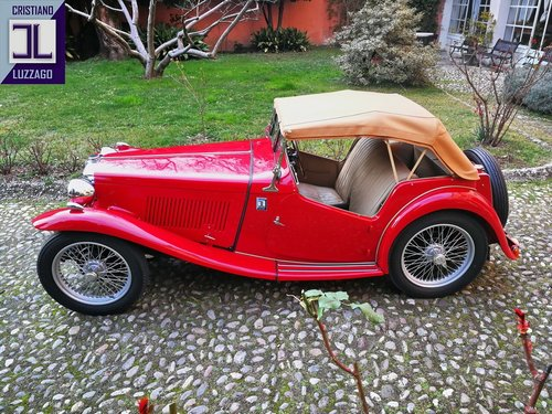 VERY NICE AND RELIABLE 1948 MG TC MIDGET SOLD (picture 2 of 6)
