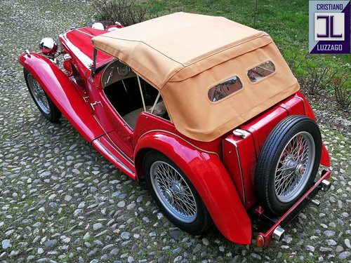 VERY NICE AND RELIABLE 1948 MG TC MIDGET SOLD (picture 3 of 6)