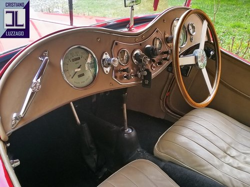 VERY NICE AND RELIABLE 1948 MG TC MIDGET SOLD (picture 4 of 6)