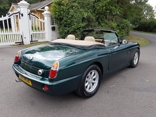 1995 MG RV8 UK Car with Air Conditioning & Uprated Engine SOLD (picture 2 of 6)