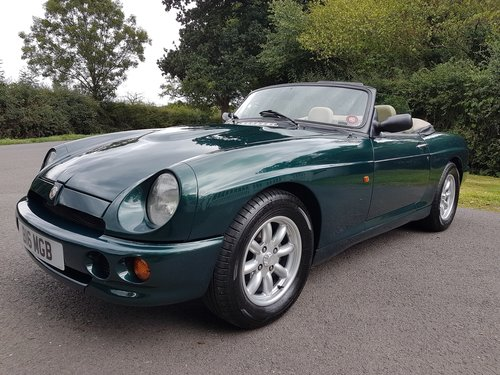1995 MG RV8 UK Car with Air Conditioning & Uprated Engine SOLD (picture 3 of 6)