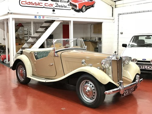 1953 MG TD - NOW SOLD SIMILAR CLASSICS REQUIRED For Sale (picture 1 of 6)