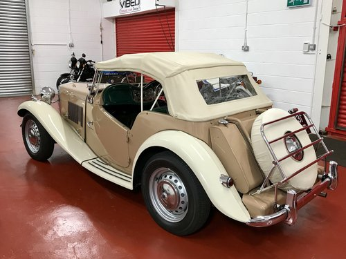 1953 MG TD - NOW SOLD SIMILAR CLASSICS REQUIRED For Sale (picture 2 of 6)