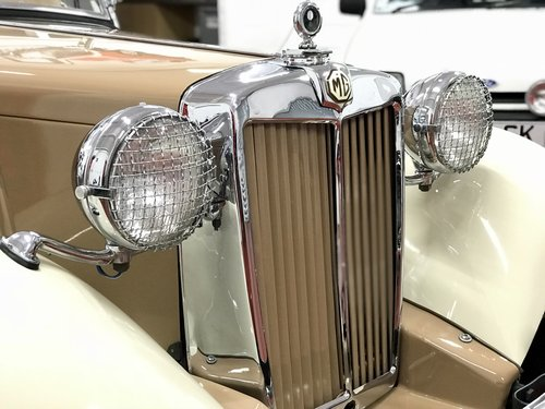 1953 MG TD - NOW SOLD SIMILAR CLASSICS REQUIRED For Sale (picture 5 of 6)
