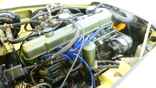 1968 MGC Roadster With Automatic Transmission  SOLD (picture 3 of 6)