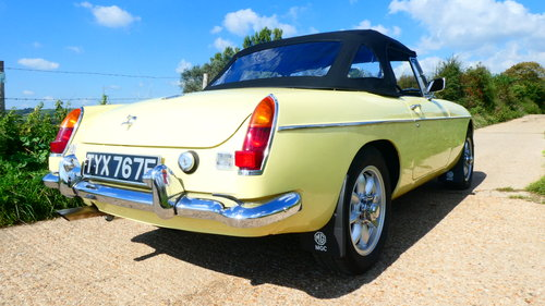 1968 MGC Roadster With Automatic Transmission  SOLD (picture 4 of 6)