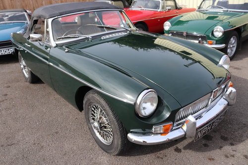 1972 MGB Roadster,HERITAGE SHELL in BRG For Sale (picture 1 of 5)
