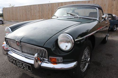 1972 MGB Roadster,HERITAGE SHELL in BRG For Sale (picture 5 of 5)