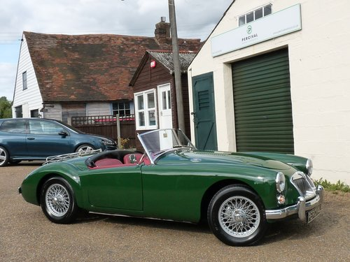 1962 MGA roadster Mk11, 1950cc engine, 5 speed gearbox, Sold SOLD (picture 1 of 6)