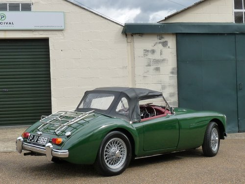 1962 MGA roadster Mk11, 1950cc engine, 5 speed gearbox, Sold SOLD (picture 2 of 6)