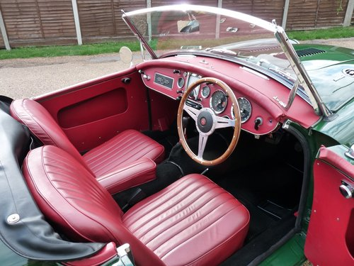 1962 MGA roadster Mk11, 1950cc engine, 5 speed gearbox, Sold SOLD (picture 3 of 6)