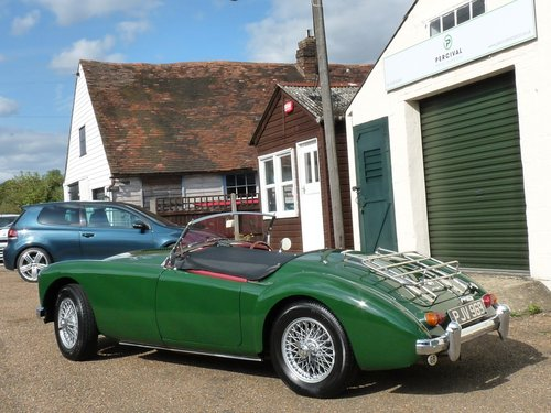 1962 MGA roadster Mk11, 1950cc engine, 5 speed gearbox, Sold SOLD (picture 5 of 6)