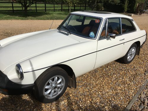 MGB GT 1981 with current MOT and only 30000 miles SOLD (picture 3 of 6)