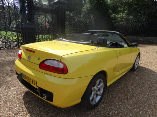 2003 MG TF 135 WITH HARDTOP ONLY 35,000 MILES For Sale (picture 3 of 6)