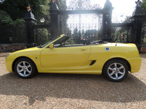 2003 MG TF 135 WITH HARDTOP ONLY 35,000 MILES For Sale (picture 4 of 6)