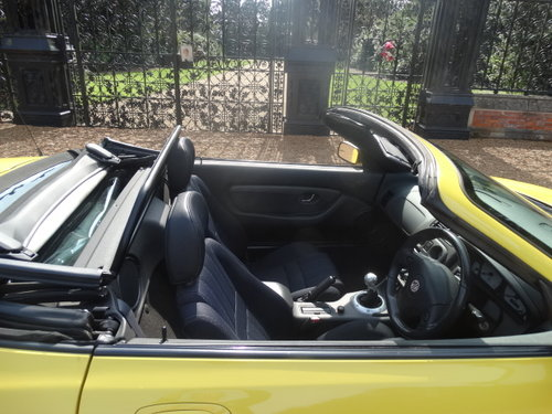 2003 MG TF 135 WITH HARDTOP ONLY 35,000 MILES For Sale (picture 5 of 6)