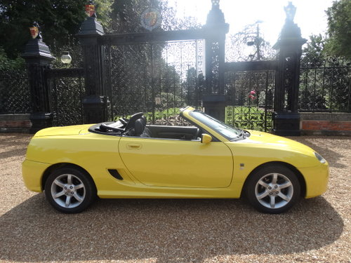 2003 MG TF 135 WITH HARDTOP ONLY 35,000 MILES For Sale (picture 6 of 6)