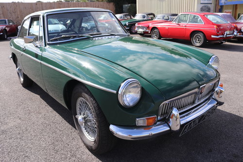 1969 MGB GT Mk2, rare model SOLD (picture 1 of 6)