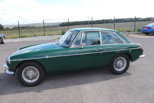 1969 MGB GT Mk2, rare model SOLD (picture 6 of 6)