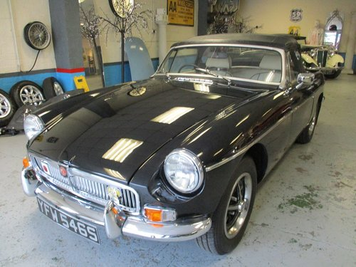 1978 MG B Roadter - Chrome Bumpers For Sale (picture 1 of 3)