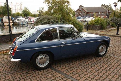 1967 MGB GT Mk1 - Mineral Blue, Restored - MGBGT MG BGT SOLD (picture 1 of 6)