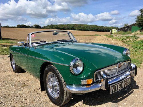 1971 MGB 1.8 Roadster VERY SPECIAL 1860cc FAST ROAD For Sale (picture 1 of 6)
