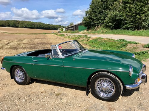 1971 MGB 1.8 Roadster VERY SPECIAL 1860cc FAST ROAD For Sale (picture 2 of 6)