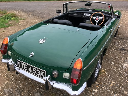 1971 MGB 1.8 Roadster VERY SPECIAL 1860cc FAST ROAD For Sale (picture 6 of 6)