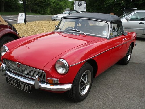 1970 MG B Roadster - Chrome Bumpered For Sale (picture 4 of 4)