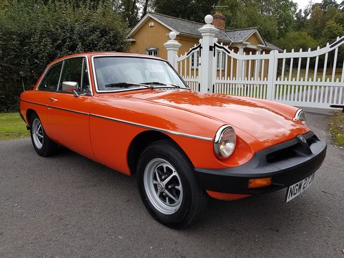 1981 MGB GT 1.8 SOLD (picture 1 of 6)