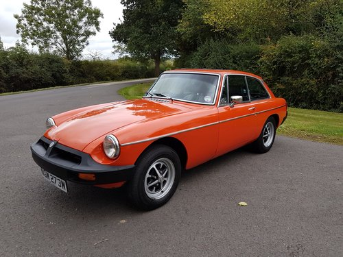 1981 MGB GT 1.8 SOLD (picture 4 of 6)