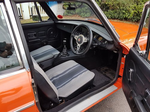 1981 MGB GT 1.8 SOLD (picture 5 of 6)