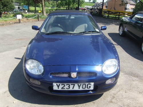 2001 MG F For Sale (picture 1 of 4)