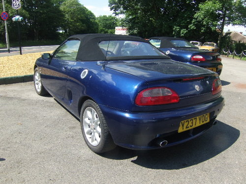 2001 MG F For Sale (picture 3 of 4)