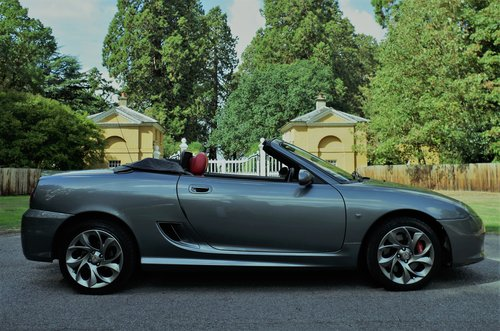 2011 MG TF 135 Enigmatic silver, black/red trim 11K miles, superb SOLD (picture 2 of 6)