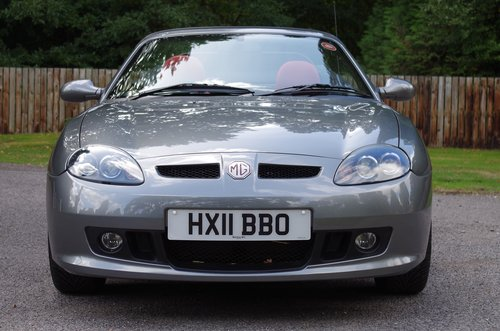 2011 MG TF 135 Enigmatic silver, black/red trim 11K miles, superb SOLD (picture 3 of 6)