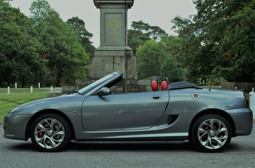 2011 MG TF 135 Enigmatic silver, black/red trim 11K miles, superb SOLD (picture 5 of 6)